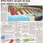 Septembre 2013 : Journal de l'Orne - Article